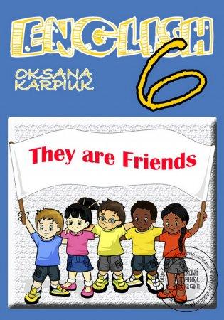 Підручник Англійська мова 6 клас Карп'юк (6 рік навчання) (2014)